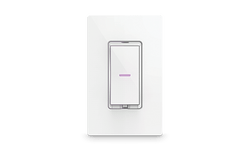 iDevices Dimmer Switch, In-Wall, Connected, Voice Control, Wi-Fi, Smart Home, Amazon Alexa, Google Assistant, Apple HomeKit, iOS, Samsung, Connected