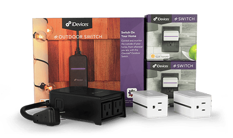 iDevices Foundation Pack, Outdoor Switch, Switch, Plug and Play, essentials, Indoor, Outdoor, Connected, Voice Control, Smart Home