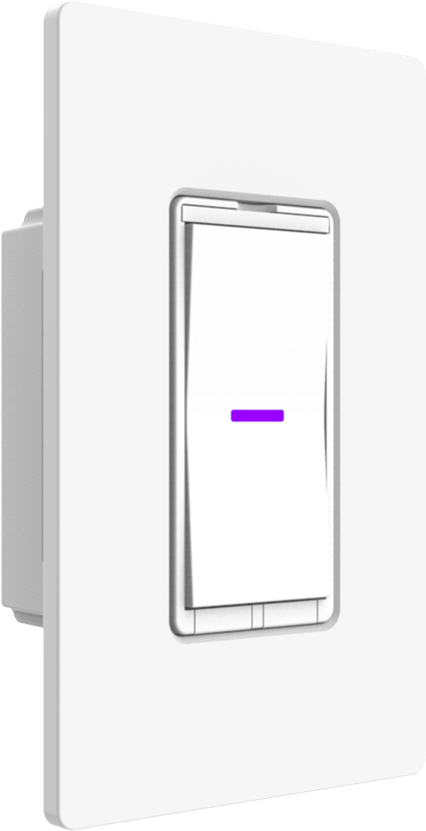 iDevices Wall Switch, Smart Home, In-Wall, Switch, Connected, Google Assistant, Apple HomeKit, Amazon Alexa, Siri, Wi-Fi