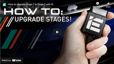 How to upgrade Stage 1 to Stage 2 with IE