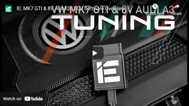 IE: MK7 GTI & 8V A3 MQB ECU Software Overview