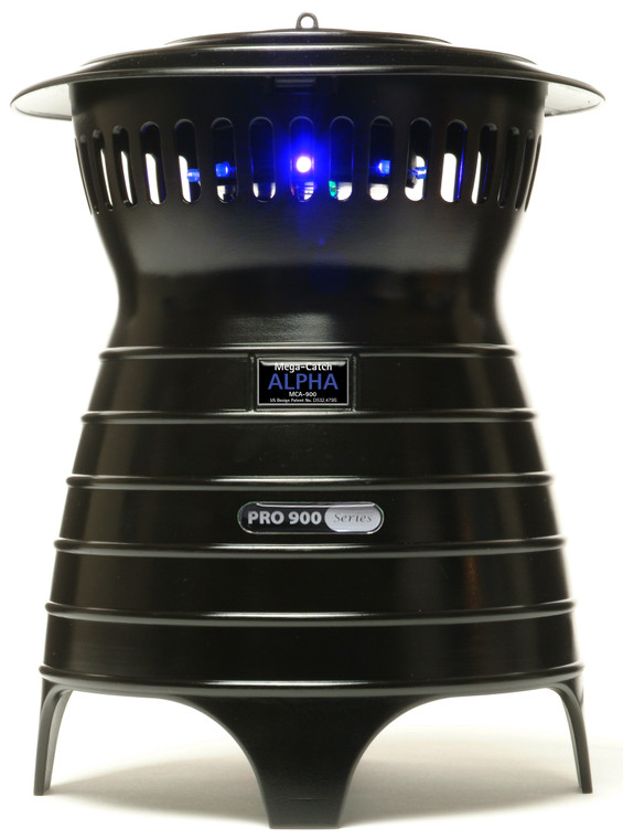 Mega-Catch ALPHA Mosquito Trap - the perfect outdoor trap for small gardens and patios.