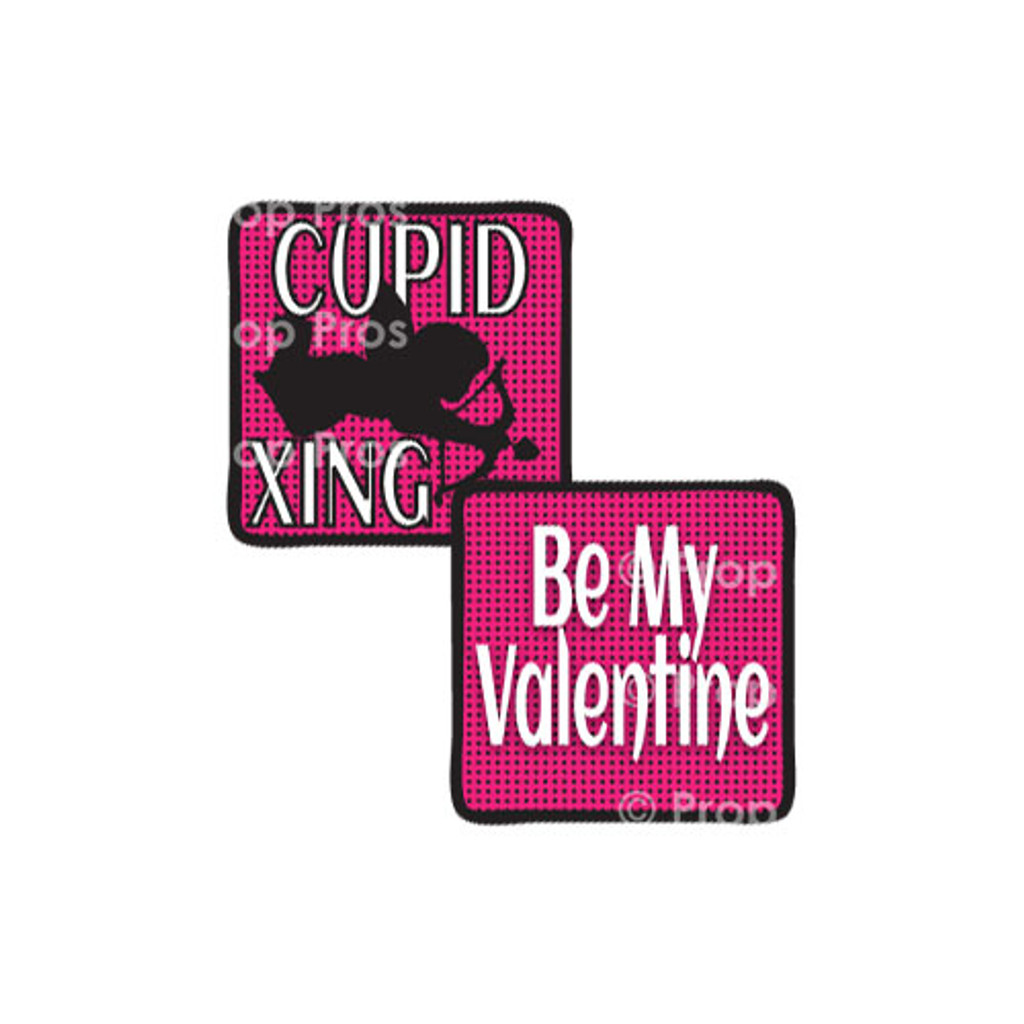 Prop Shop Pros Valentines Photo Booth Props Cupid Xing & Be My Valentine