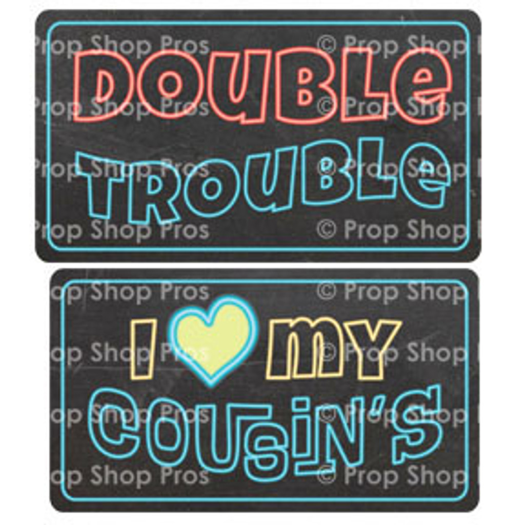 Family Signs | Family Matters | Photo Booth Props | Prop Signs
