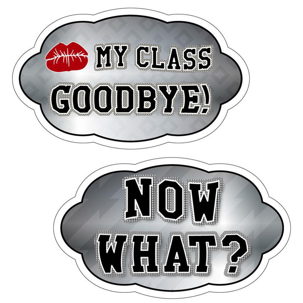 Graduation Signs Complete | Photo Booth Props | Prop Signs