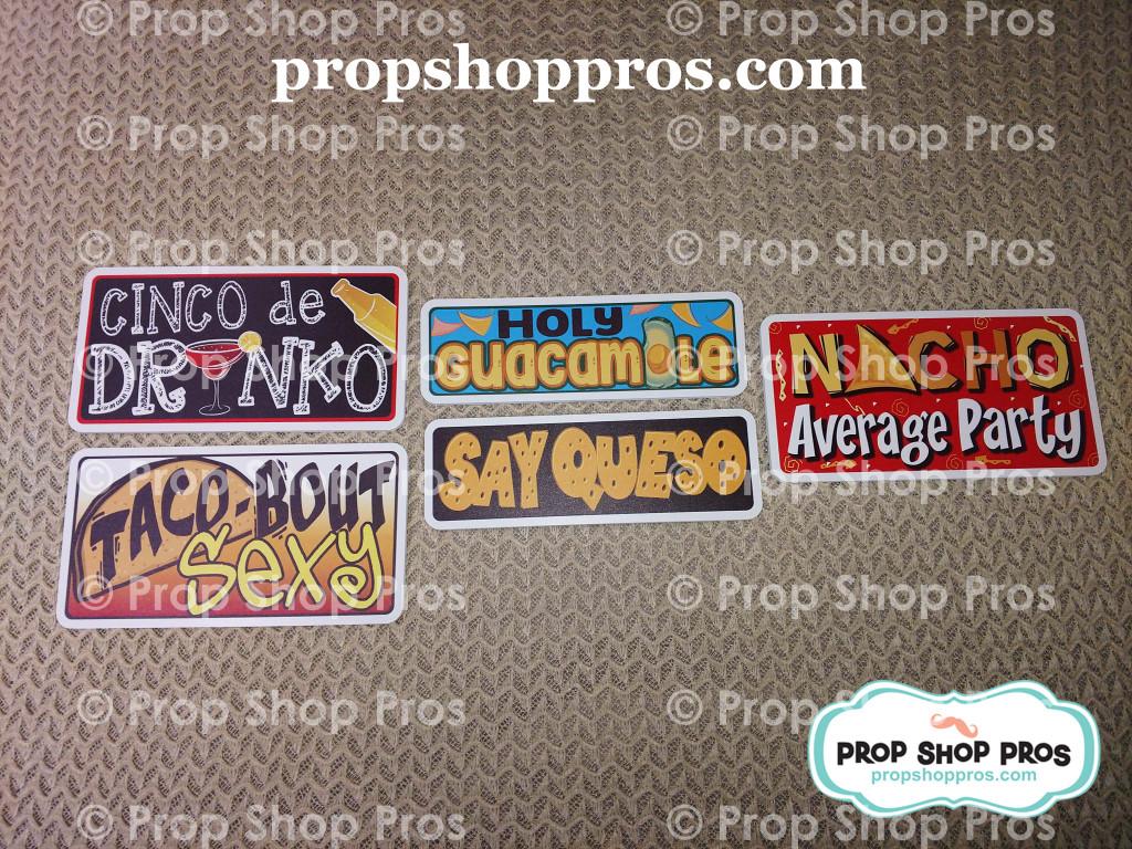 Cinco De Mayo | Mexican Bundle | Photo Booth Props