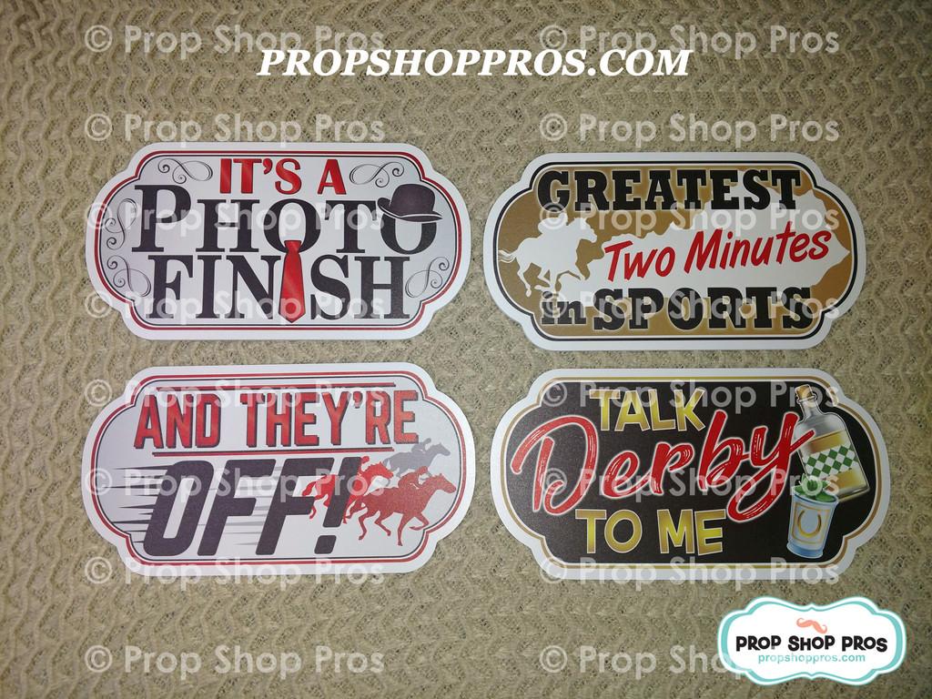 Kentucky Derby Bundle | Derby Bundle | Photo Booth Props | Prop Signs