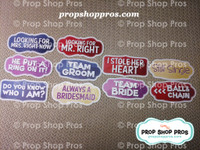Wedding Signs | Modern Signs | Photo Booth Props | Prop Signs