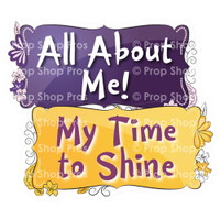 Prop Shop Pros Sweet Sixteen Photo Booth Props All About Me & My Time To Shine