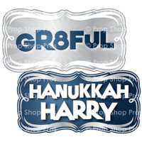 Prop Shop Pros Hanukkah Photo Booth Props Gr8ful & Hanukkah Harry