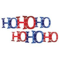 Prop Shop Pros Christmas Photo Booth Props Ho Ho Ho (double sided)