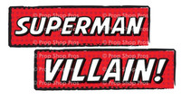 Prop Shop Pros Super Hero Photo Booth Props Superman & Villain
