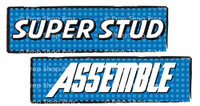 Prop Shop Pros Super Hero Photo Booth Props Super Stud & Assemble
