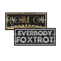 Prop Shop Pros Gatsby Photo Booth Props Ragtime Gal & Everybody Foxtrot