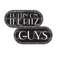 Prop Shop Pros Gatsby Photo Booth Props Puttin On The Ritz & Guys