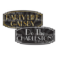 Prop Shop Pros Gatsby Photo Booth Props Party Like A Gatsby & Do The Charleston