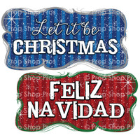 Christmas Signs | Traditional Part #2 | Photo Booth Props