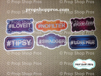 Glitz Galore Signs | Photo Booth Props | Prop Signs