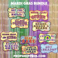 Prop Shop Pros Mardi Gras Photo Booth Props