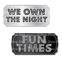 Prom Signs | Prom Part #2 | B-STOCK | Photo Booth Props | Prop Signs
