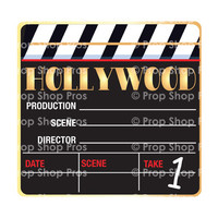 Hollywood Signs | B-STOCK | Photo Booth Props | Prop Signs