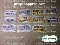 Class Reunion Signs | Photo Booth Props | Prop Signs