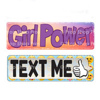 Prop Shop Pros Kid Friendly Photo Booth Props Girl Power & Text Me