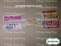 Kids Friendly Signs | School Signs | Photo Booth Props | Prop Signs