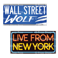 New York City Signs   B-STOCK   Photo Booth Props   Prop Signs