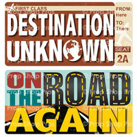 Travel Props | Vacation Props | B-STOCK | Destination Signs