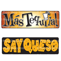 Prop Shop Pros Cinco De Mayo Photo Booth Props Mas Tequilia & Say Queso
