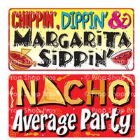 Prop Shop Pros Cinco De Mayo Photo Booth Props Chippin Dippin & Margarita Sippin & Nacho Average Party