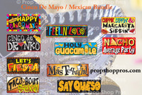 Prop Shop Pros Cinco De Mayo Photo Booth Props