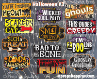 Prop Shop Pros Halloween Photo Booth Props 3