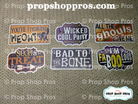 Halloween Signs | Halloween Part #3  | Photo Booth Props | Prop Signs