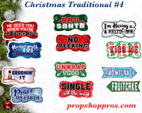 Prop Shop Pros Christmas Photo Booth Props 4