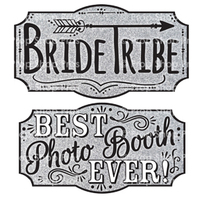 Prop Shop Pros Wedding Fair Photo Booth Props Bride Tribe & Best Photo Booth Ever