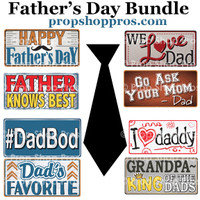 Prop Shop Pros Fathers Day Photo Booth Props