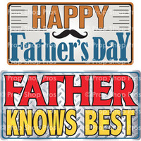 Prop Shop Pros Fathers Day Photo Booth Props Happy Father's Day & Fathers Knows Best