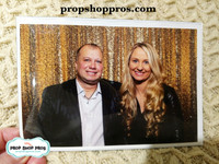 Prop Shop Pros 4x6 Magnet Sleeve for Photo Booth Rental  with picture for example