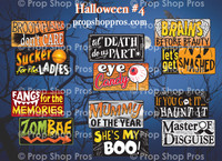 Prop Shop Pros Halloween 4 Photo Booth Props