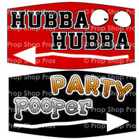 Party Signs | Anytime Party 1-19 | Photo Booth Props