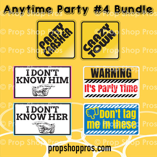 Prop Shop Pros Anytime Party Photo Booth Props 4