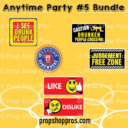 Prop Shop Pros Anytime Party Photo Booth Props 5