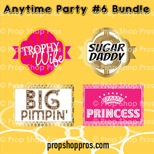 Prop Shop Pros Anytime Party Photo Booth Props 6