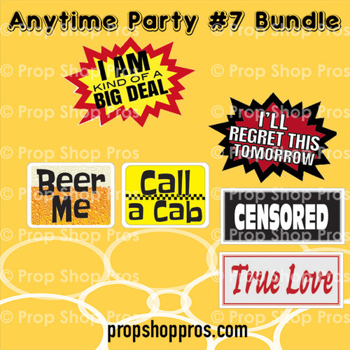 Prop Shop Pros Anytime Party Photo Booth Props 7