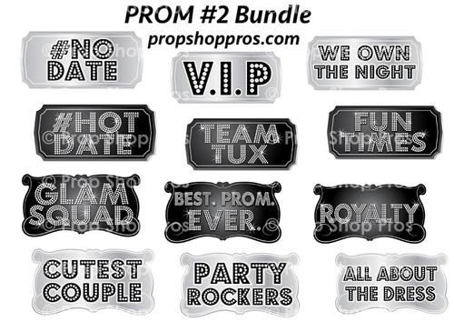 Prop Shop Pros Prom Photo Booth Props 2