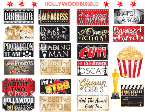 Prop Shop Pros Hollywood Photo Booth Props