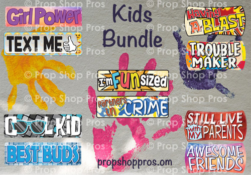 Prop Shop Pros Kid Friendly Photo Booth Props