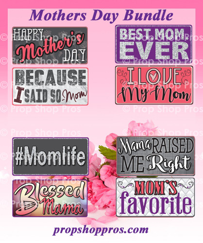 Mothers Day Signs   B-STOCK   Photo Booth Props   Prop Signs